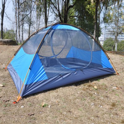 Hasky CY - 220 Camping TentTent<br>Hasky CY - 220 Camping Tent<br><br>Brand: Hasky<br>Color: Blue,Orange,Red<br>Features: Breathable, Double Doors, Double Layers, Waterproof, Wind Proof<br>Fits for: Double<br>Package Content: 1 x Hasky CY - 220 Tent, 1 x Storage Bag, 1 x Set of Ropes, 1 x Set of Pegs, 2 x Aluminum Alloy Pole<br>Package size: 45.00 x 20.00 x 16.00 cm / 17.72 x 7.87 x 6.3 inches<br>Package weight: 2.330 kg<br>Product size: 210.00 x 150.00 x 115.00 cm / 82.68 x 59.06 x 45.28 inches<br>Product weight: 2.100 kg<br>Structure: Bilayer<br>Type: Manual Tent