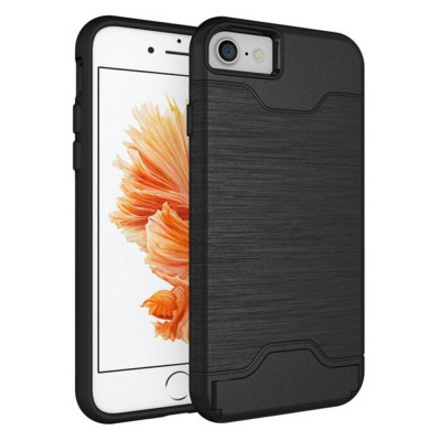 PC Back Cover Case Silicone Bumper Protector for iPhone 7