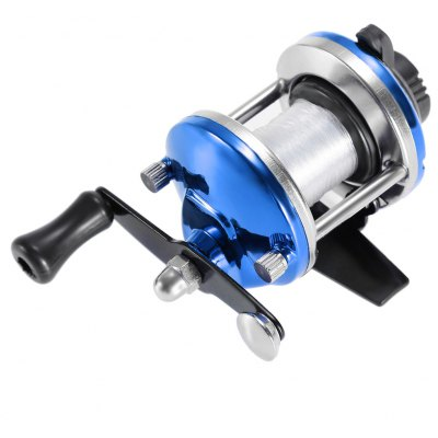 Fish Tackle Metal Fishing Baitcasting Reel with 50m Line