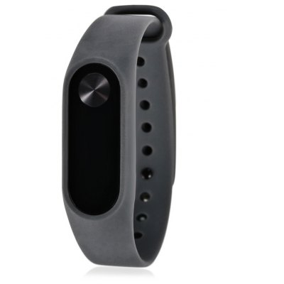 Pure Color TPU Smart Wrist Watch Strap for Xiaomi Miband 2