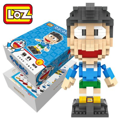 LOZ 370Pcs XXL - 9810 Doraemon Suneo Honekawa Building Block Toy for Enhancing Social Cooperation Ability