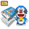LOZ 310Pcs XXL - 9804 Doraemon Time Machine Building Block Toy for Enhancing Social Cooperation Ability