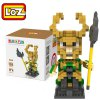 Buy LOZ 35L - 9449 Avengers Loki Building Block Toy Improving Social Cooperation Ability YELLOW