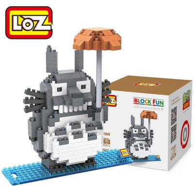 LOZ L - 9509 Totoro Diamond Building Block - 360Pcs