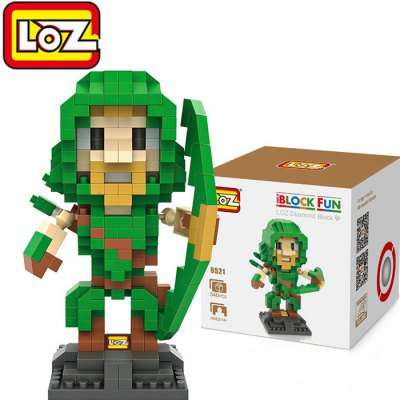 LOZ 340Pcs L - 9521 Arrow Action Figure Building Block