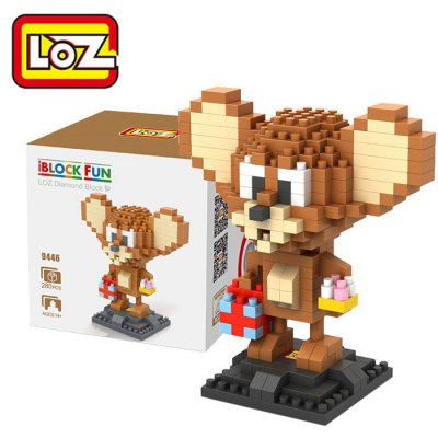 LOZ 280Pcs L - 9446 Tom and Jerry Mouse Figure