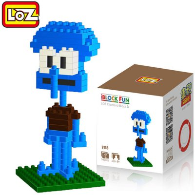 LOZ 140Pcs M - 9145 SpongeBob Squidward Tentacles Building Block