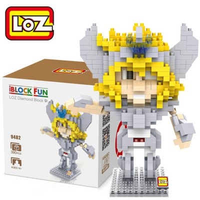 LOZ L - 9482 Cygnus Hyoga Mini Building Block - 390Pcs