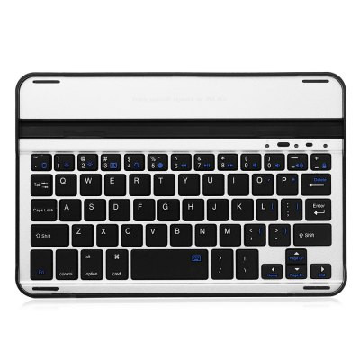 Bluetooth 3.0  Keyboard for iPad Mini 1 / 2 / 3 / 4ipad Keyboards<br>Bluetooth 3.0  Keyboard for iPad Mini 1 / 2 / 3 / 4<br><br>Battery Capacity (mAh): 200mAh<br>Color: Black,White<br>Features: Cases with Keyboard<br>Mainly Compatible with: Ipad Mini, iPad mini 2, iPad mini 3, iPad mini 4<br>Material: ABS, Aluminum Alloy<br>Package Contents: 1 x Bluetooth Keyboard, 1 x USB Cable, 1 x English / Chinese User Manual<br>Package size (L x W x H): 27.00 x 16.00 x 4.00 cm / 10.63 x 6.3 x 1.57 inches<br>Package weight: 0.300 kg<br>Product size (L x W x H): 23.00 x 15.00 x 3.00 cm / 9.06 x 5.91 x 1.18 inches<br>Product weight: 0.260 kg<br>Standby time: 100 days<br>Wireless distance: 10m<br>Working Time: 100h