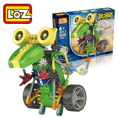 880Pcs LOZ Building Block Educational Toy for Spatial Thinking