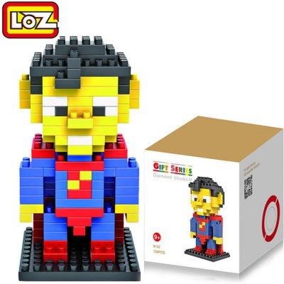 LOZ 120Pcs M - 9152 Superman Building Block