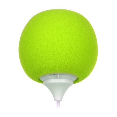 Portable Sponge Ball 8 Pin Connector Digital Audio SpeakeriPhone Speakers<br>Portable Sponge Ball 8 Pin Connector Digital Audio Speaker<br><br>Input: 3.3V 0.05mA<br>Speaker power: 3W ( max )<br>Color: Black,Green,Red,Yellow<br>Product weight: 0.030 kg<br>Package weight: 0.052 kg<br>Product size (L x W x H): 21.20 x 5.30 x 5.30 cm / 8.35 x 2.09 x 2.09 inches<br>Package size (L x W x H): 11.00 x 5.50 x 5.50 cm / 4.33 x 2.17 x 2.17 inches<br>Package Contents: 1 x Speaker