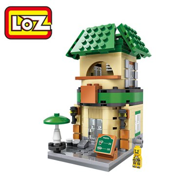 LOZ ABS 312pcs Mini Street Building Block Model