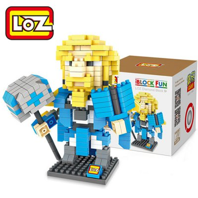 LOZ L - 9501 Warcraft Archmage Micro Diamond Building Block 310Pcs Educational Toy