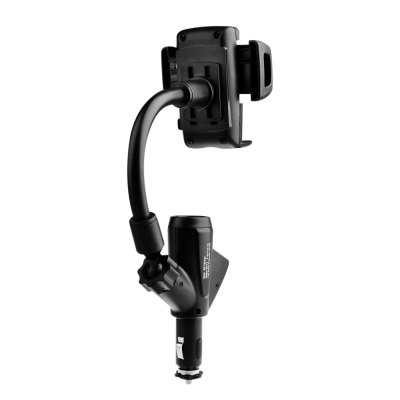 VicTsing Car Mount Phone Holder Dual USB Power Charger