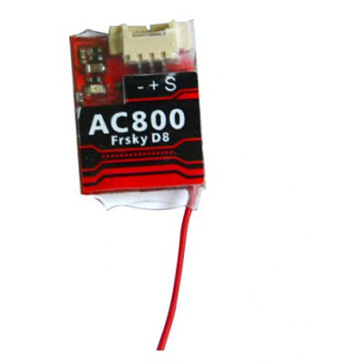 AC800 2.4GHz 8CH SBUS PPM Receiver