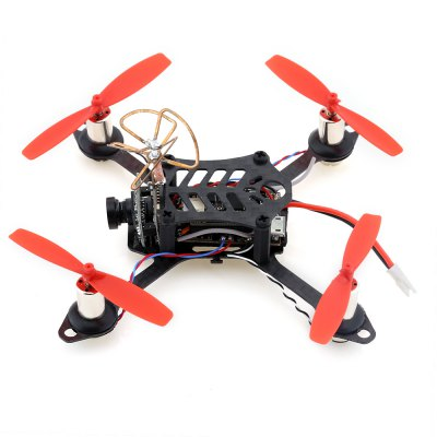 LT105 105mm Mini Brushed RC Quadcopter - ARFMulti Rotor Parts<br>LT105 105mm Mini Brushed RC Quadcopter - ARF<br><br>Channel: No Transmitter<br>Flying Time: 4~5mins<br>Mode: No Transmitter<br>Package Contents: 1 x Quadcopter, 2 x Battery, 4 x Propeller<br>Package size (L x W x H): 11.00 x 11.00 x 7.00 cm / 4.33 x 4.33 x 2.76 inches<br>Package weight: 0.115 kg<br>Product size (L x W x H): 10.00 x 10.00 x 5.80 cm / 3.94 x 3.94 x 2.28 inches<br>Product weight: 0.046 kg<br>Remote Control: Radio Control<br>Transmitter Power: No transmitter included<br>Type: Motor, Frame Kit, Flight Controller, ESC, Camera Set, Body Frame<br>Video Resolution: 500TVL<br>Video Standards: NTSC