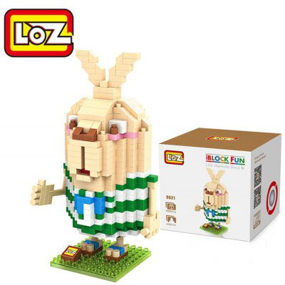 LOZ 450Pcs 9621 Usavich Putin Figure Building Block Toy for Enhancing Social Cooperation Ability