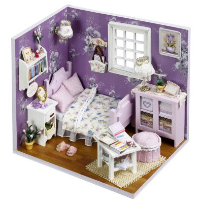 DIY Miniature Doll House Style Art Handicraft Toy