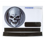 STICKERBOMB Skull Paster for Xiaomi Robot Cleaner