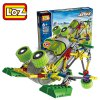 118Pcs LOZ 3012 Magic Frog Building Block Educational Toy for Spatial Thinking