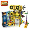 125Pcs LOZ 3011 Armor Kangaroo Building Block Educational Toy for Spatial Thinking