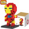 LOZ 130Pcs M - 9158 Iron Man Building Block Educational Assembling Boy Girl Gift for Sparking Imagination 11027