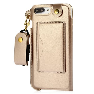 Creative PU Leather Phone Back Case for iPhone 7 Plus