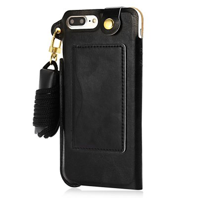Creative PU Leather Phone Back Case for iPhone 7 PlusiPhone Cases/Covers<br>Creative PU Leather Phone Back Case for iPhone 7 Plus<br><br>Compatible for Apple: iPhone 7 Plus<br>Features: Anti-knock,Back Cover,With Lanyard<br>Material: PU Leather<br>Style: Cool,Modern<br>Color: Black,Gold,White<br>Product weight: 0.045 kg<br>Package weight: 0.089 kg<br>Product size (L x W x H): 16.20 x 9.70 x 1.00 cm / 6.38 x 3.82 x 0.39 inches<br>Package size (L x W x H): 25.50 x 14.00 x 3.00 cm / 10.04 x 5.51 x 1.18 inches<br>Package Contents: 1 x Phone Case