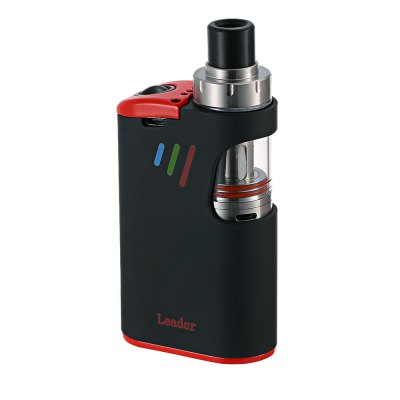 Original KVP SMOD LEADER Mod KitMod kits<br>Original KVP SMOD LEADER Mod Kit<br><br>Adjustable voltage range: 3.3~4.2V<br>APV Mod Wattage: 80W<br>APV Mod Wattage Range: 51-100W<br>Atomizer Capacity: 3.0ml<br>Atomizer Resistance: 0.2 ohm<br>Atomizer Type: Clearomizer, Tank Atomizer<br>Battery Capacity: 2600mAh<br>Brand: SMOD<br>Color: Black,Green,White<br>Connection Threading of Atomizer: 510<br>Connection Threading of Battery: 510<br>Material: Stainless Steel, Glass, Aluminum<br>Mod Type: VV/VW Mod<br>Model: LEADER<br>Package Contents: 1 x KVP SMOD LEADER Mod, 1 x KVP SMOD LEADER Clearomizer<br>Package size (L x W x H): 12.10 x 7.00 x 3.10 cm / 4.76 x 2.76 x 1.22 inches<br>Package weight: 0.251 kg<br>Product size (L x W x H): 4.70 x 2.40 x 9.50 cm / 1.85 x 0.94 x 3.74 inches<br>Product weight: 0.171 kg<br>Type: Mod Kit<br>Variable voltage: Yes