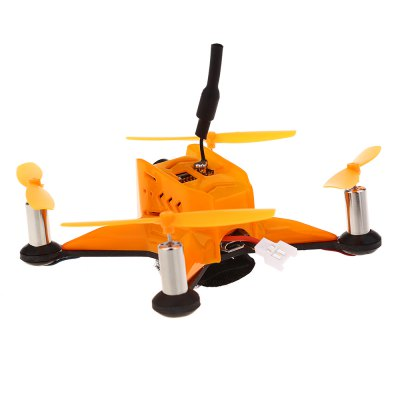 GB100 5.8G Real-time Transmission DroneMicro Brushed Racer<br>GB100 5.8G Real-time Transmission Drone<br><br>Battery (mAh): 3.7V 500mAh 20C<br>Camera Pixels: 600TVL<br>Package Contents: 1 x Racing Quadcopter, 8 x Propeller, 1 x Screw Driver, 1 x Charging Cable, 1 x 3.7V 500mAh 20C Battery<br>Package size (L x W x H): 15.00 x 10.00 x 6.00 cm / 5.91 x 3.94 x 2.36 inches<br>Package weight: 0.190 kg<br>Product weight: 0.050 kg<br>Type: Frame Kit<br>Version: ARF