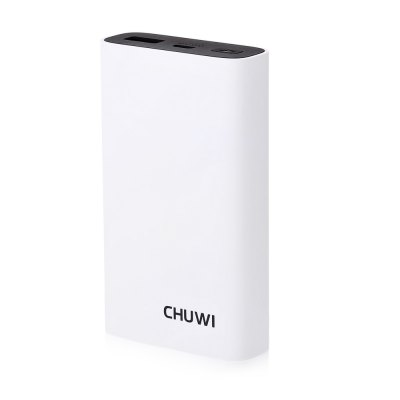 CHUWI M - 10000 10050mAh Portable Power BankPower Banks<br>CHUWI M - 10000 10050mAh Portable Power Bank<br><br>Battery Type: Li-ion Battery<br>Brand: CHUWI<br>Capacity (mAh): 10050mAh<br>Capacity Range: Over 10000mAh<br>Color: Black,Green,White<br>Connection Type: Micro USB, One USB Output Interface<br>Input: 5V 2A, 9V 2A, 12V 1.5A<br>Material: PC, ABS<br>Model: M-10000<br>Output: 5 - 6V 3A, 6 - 9V 2A, 9 - 12V 1.5A<br>Package Contents: 1 x Power Bank, 1 x English User Manual, 1 x USB Cable<br>Package size (L x W x H): 11.00 x 8.10 x 2.50 cm / 4.33 x 3.19 x 0.98 inches<br>Package weight: 0.235 kg<br>Product size (L x W x H): 10.35 x 2.28 x 6.09 cm / 4.07 x 0.9 x 2.4 inches<br>Product weight: 0.195 kg<br>Type: Portable Mobile Powers