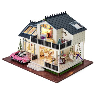 DIY Miniature House Shape Birthday PresentOther Educational Toys<br>DIY Miniature House Shape Birthday Present<br><br>Completeness: Semi-finished Product<br>Gender: Unisex<br>Materials: Other, Wood<br>Package Contents: 1 x DIY House Kit, 1 x Operation Instruction<br>Package size: 35.00 x 20.00 x 10.00 cm / 13.78 x 7.87 x 3.94 inches<br>Package weight: 1.7000 kg<br>Product size: 32.00 x 24.00 x 20.50 cm / 12.6 x 9.45 x 8.07 inches<br>Product weight: 1.6000 kg<br>Stem From: China<br>Theme: Fantasy and Sci-fi