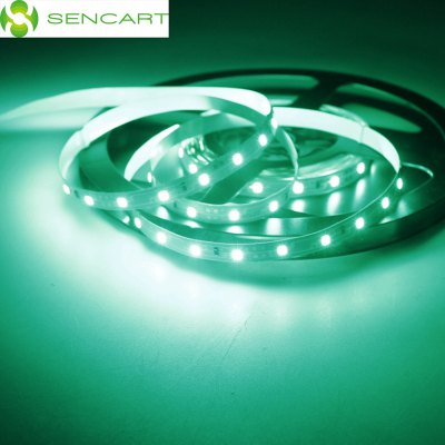 5 Meters x 60 SMD - 2835 LEDs 1500LM Cuttable Adhesive Green LED Light Strip ( 30W DC 12V )LED Strips<br>5 Meters x 60 SMD - 2835 LEDs 1500LM Cuttable Adhesive Green LED Light Strip ( 30W DC 12V )<br><br>Brand: Sencart<br>Type: LED Strip<br>Features: Cuttable,Low Power Consumption<br>Length: 5<br>Chip Brand: Epistar<br>Number of LEDs: 300<br>Theoretical Lumens: 1800LM<br>Actual Lumens: 1500LM<br>Optional Light Color: Blue,Green,Pink,Red,RGB,Warm White,White,Yellow<br>Connector type: Wired<br>Input Voltage: DC12<br>Material: FPC<br>Product weight: 0.020 kg<br>Package weight: 0.083 kg<br>Product size (L x W x H): 500.00 x 0.80 x 0.30 cm / 196.85 x 0.31 x 0.12 inches<br>Package size (L x W x H): 8.00 x 6.00 x 3.00 cm / 3.15 x 2.36 x 1.18 inches<br>Package Contents: 1 x LED Light Strip