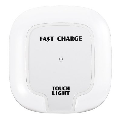 Qi Fast Wireless Charger Transmitter Square Crystal Pad