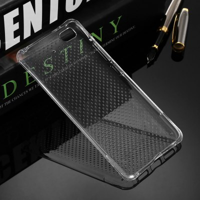 Transparent TPU Soft Protective Back Case for Xiaomi 5S