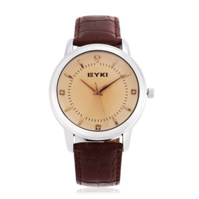 EYKI - EYKI 8599 Fashion Rhinstone Scale Men Quartz Watch