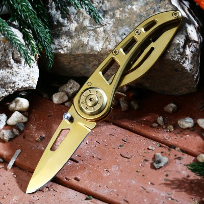 PA38 Frame Lock Folding Knife with Survival Blades