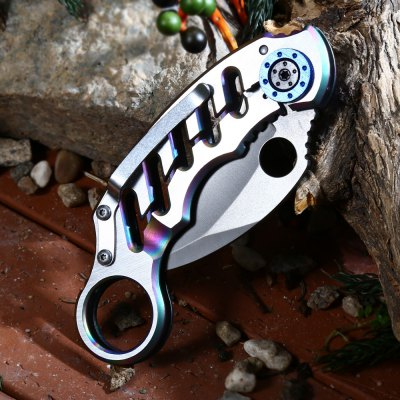 Frame Lock Folding Claw Knife 3Cr13Mov Stainless Steel Blade