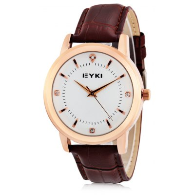 EYKI 8599 Fashion Rhinstone Scale Men Quartz Watch