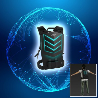 ISSAC  INTEL CPU Backpack PC for VR PC Headset