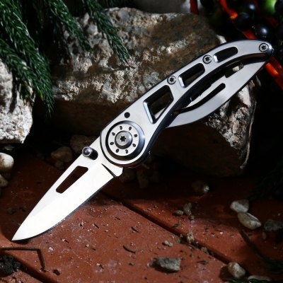 PA38 Frame Lock Folding Rescue Knife 3Cr13Mov Stainless Steel Blade