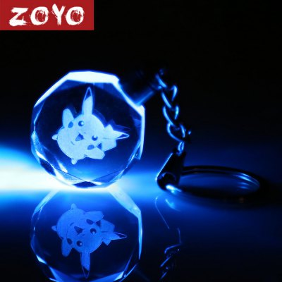 ZOYO Anime Character Theme Key Chain with Light Decor
