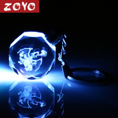 ZOYO 7 Color Change Cartoon Figure Shape Key Chain