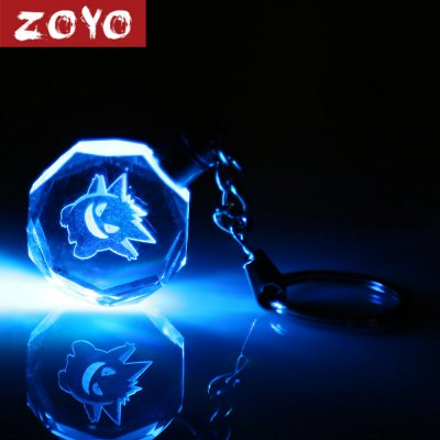 ZOYO Anime Character Theme Key Chain 7 Color Change