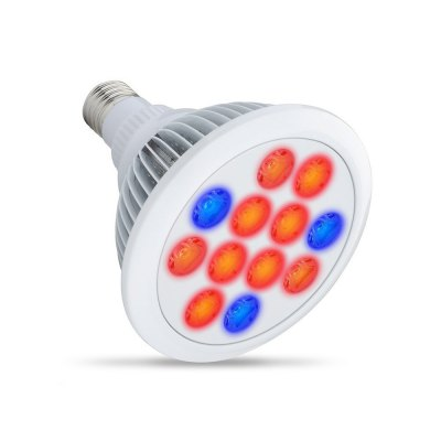 E27 36W 12 LED Grow Light Indoor Plant Growing Spot Bulb