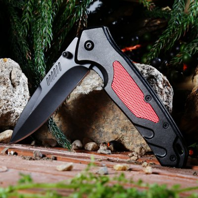 PA36 Liner Lock Folding Knife with Semi-auto Open Design