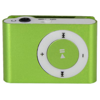 Mini-MP3-Player mit TF-Karten-Slot / Back Metallclip