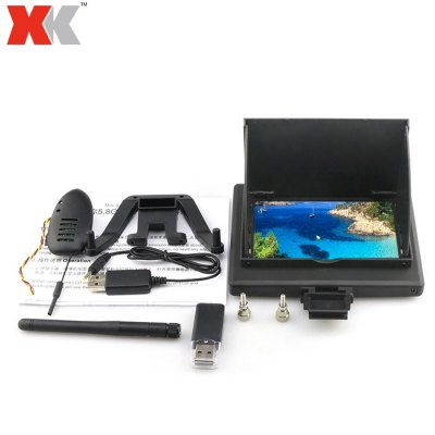 XK 5.8G 4.3 inch FPV Monitor 720P 30FPS Camera Set Fitting