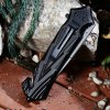 best PA47 Liner Lock Folding Knife with Semi-auto Open Design